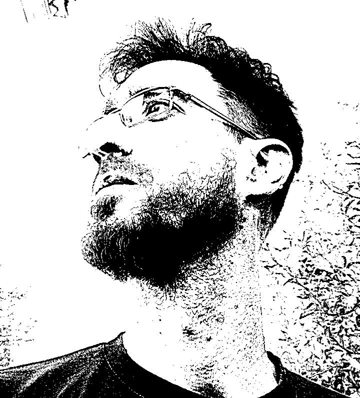 Retrato artístico de Miguel Puertas Luthier
